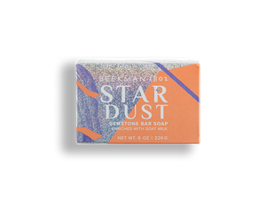 Star Dust Gemstone Bar Soap