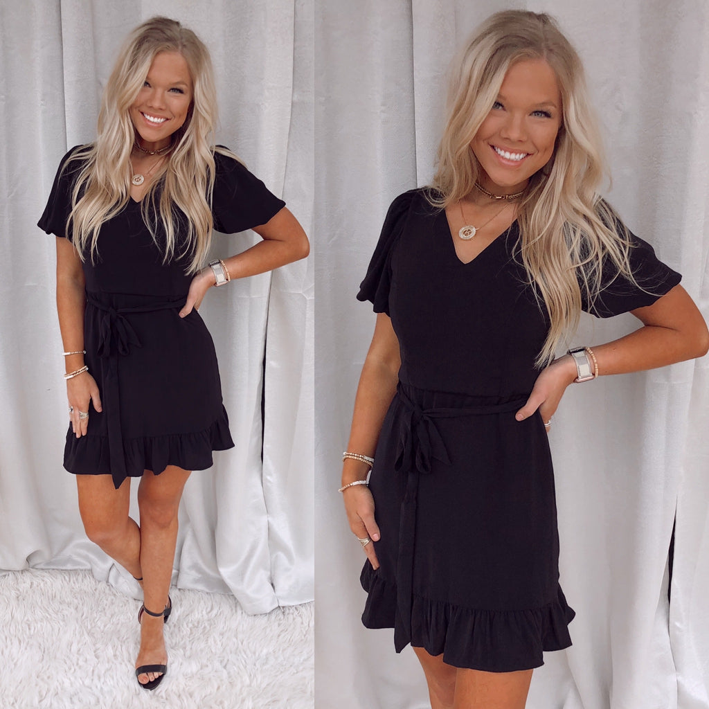 Boston Bubble Sleeved Dress