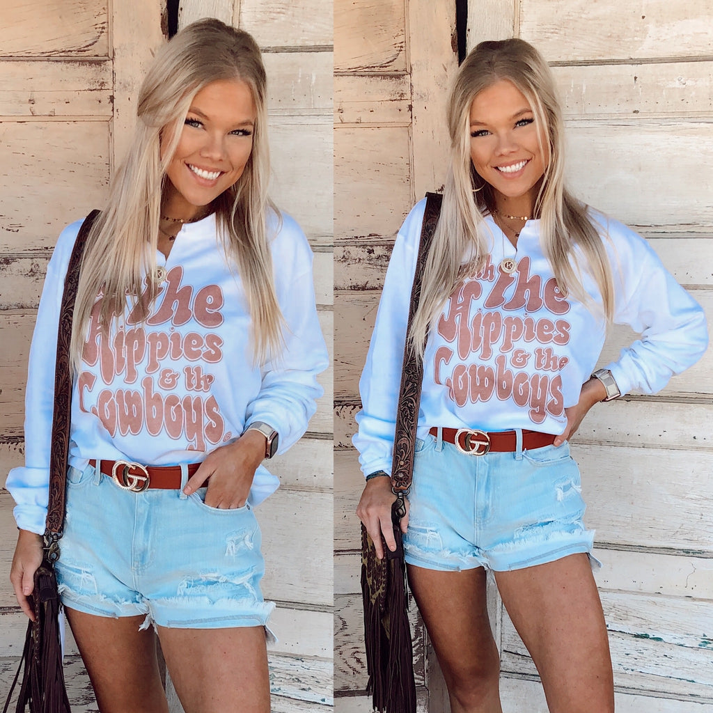 Hippies & Cowboys Sweatshirt