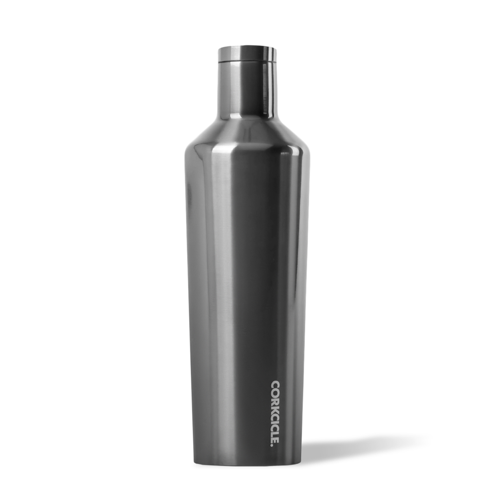 Corkcicle Metallic Gunmetal Canteen