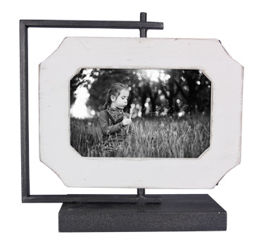 Double-sided Rotating Picture frame