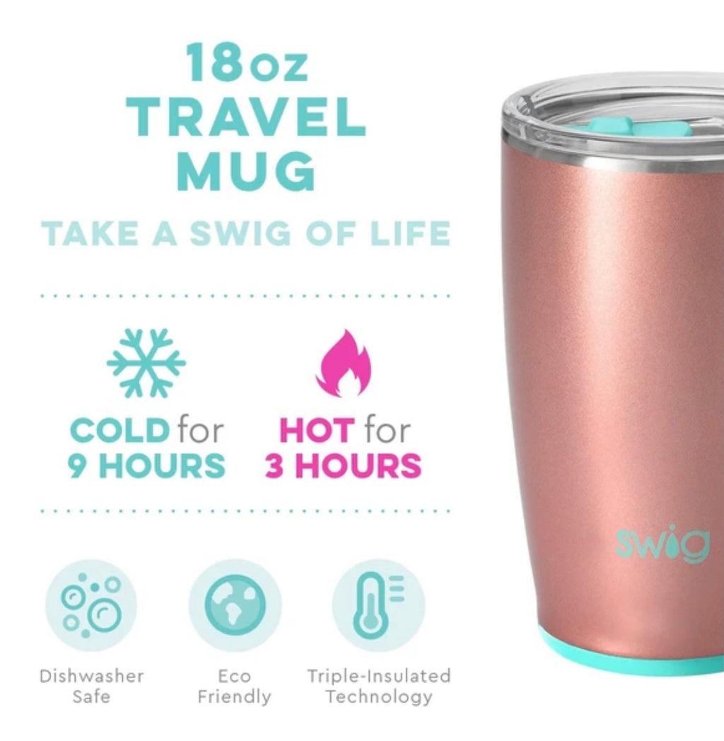 Rose Gold 18oz. Mug