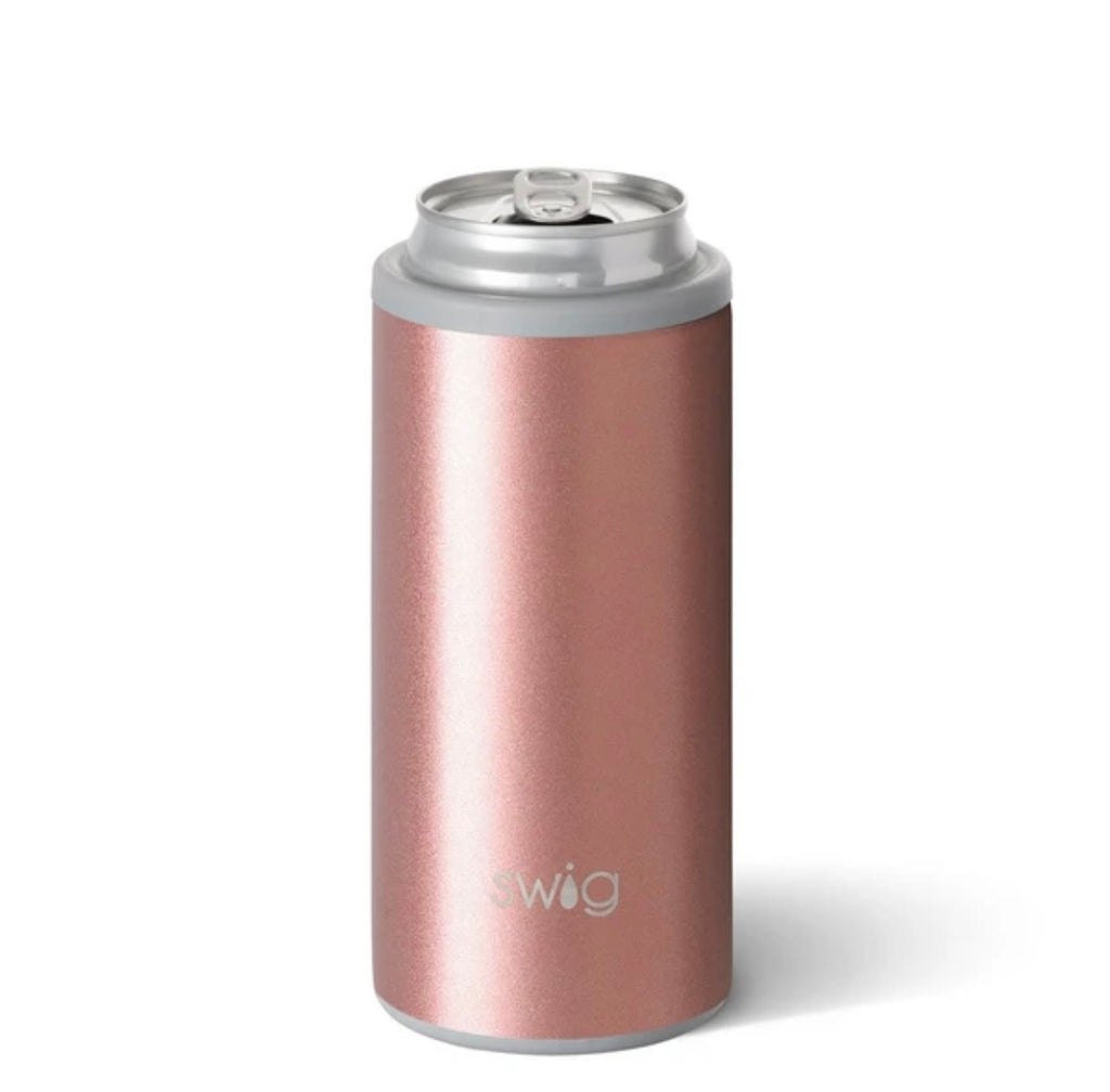 Swig Rose Gold Skinny Can Cooler