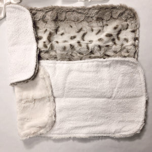 Snowcat Burp Cloth Set