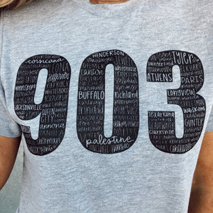 Livin in The 903 Graphic Tee