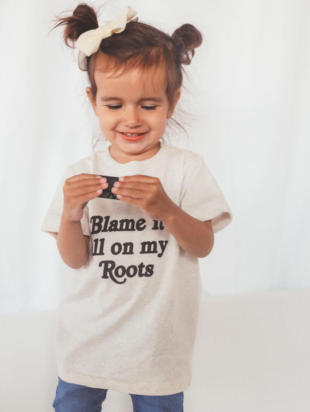 Blame It On My Roots Toddler Tee
