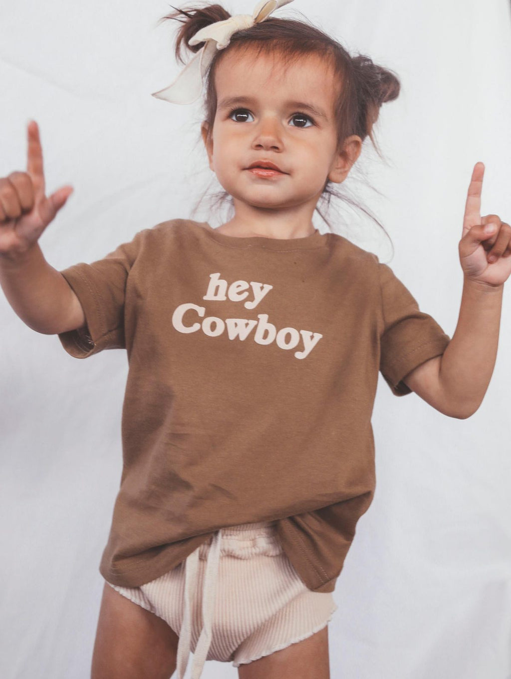 Hey Cowboy Toddler Tee