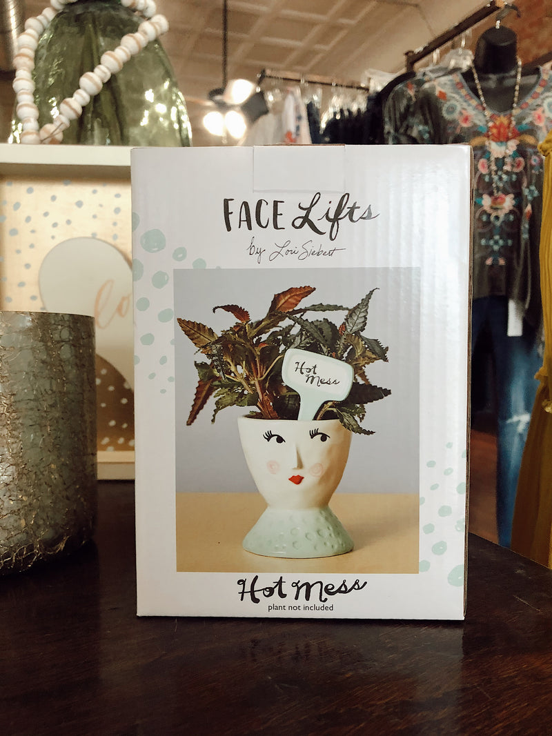 Hot Mess Face Planter