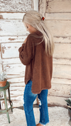 Chocolate Mineral Wash Pullover