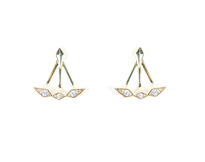 B.b. Lila Show Stopper Earrings