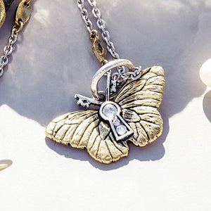 Waxing Poetic Rise Butterfly Charm