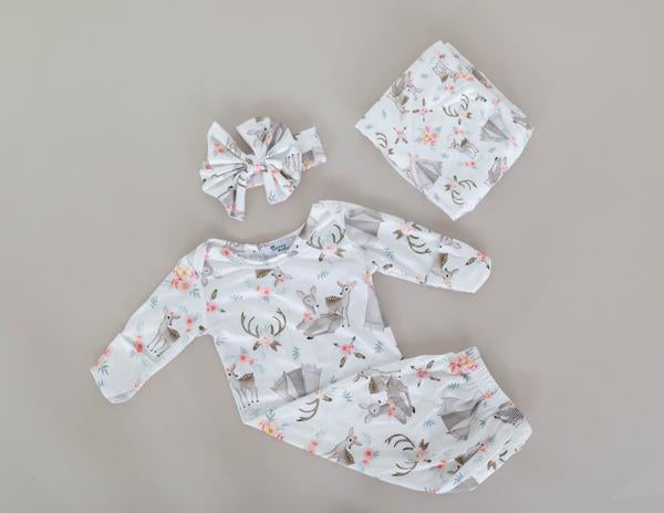 Fawn Swaddle Blanket