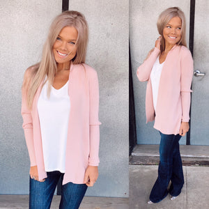 Pretty In Pink Cardigan