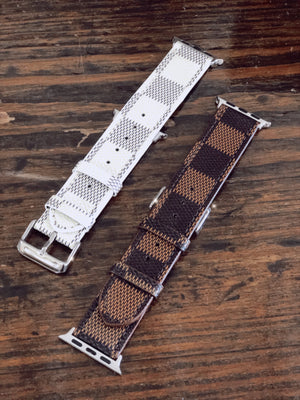 Lux Checkered Apple Watchband