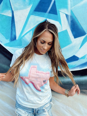 Pink Texas Graphic Tee