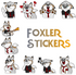 Foxler Stickers
