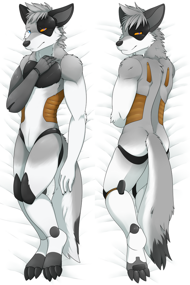 Clockwork Saburo Dakimakura Body Pillow Case