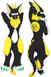 Hazard Dakimakura Body Pillow Case