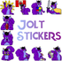 Jolt Stickers