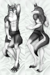 Saburo Dakimakura Body Pillow Case