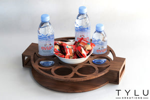 Bubbles Serving Tray - Round - Tylu Kreations