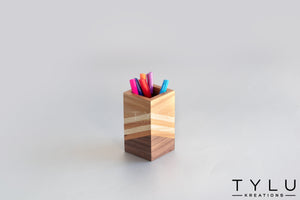 Fusion Pen Stand - White - Tylu Kreations