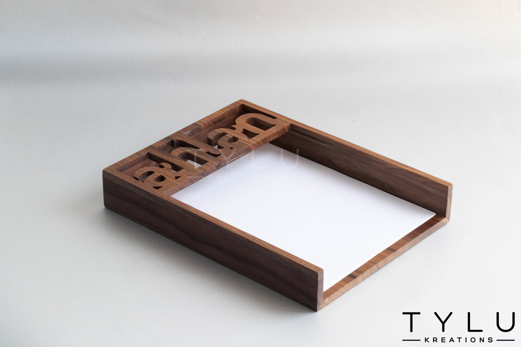 Ahlan Document Tray - Tylu Kreations
