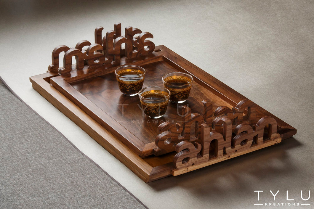 Ahlan Serving Tray - Small - Tylu Kreations