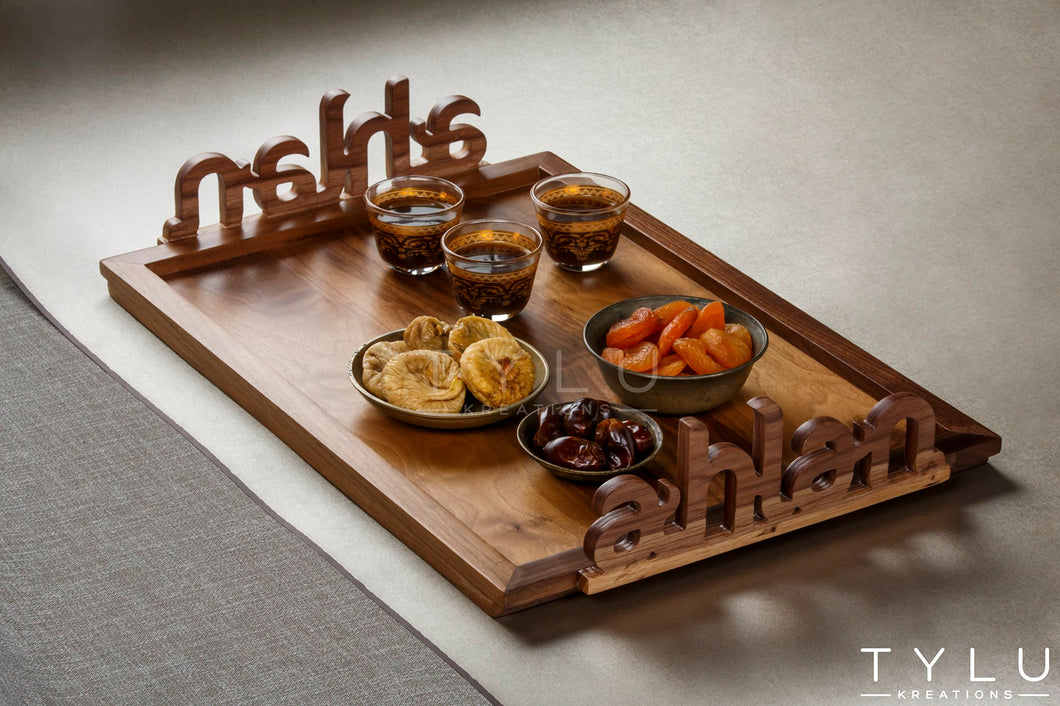 Ahlan Serving Tray - Regular - Tylu Kreations