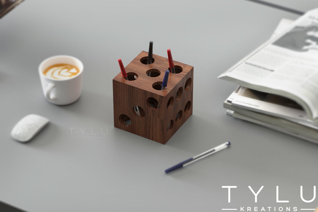 Dice Pen Holder