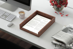 Plain Document Tray