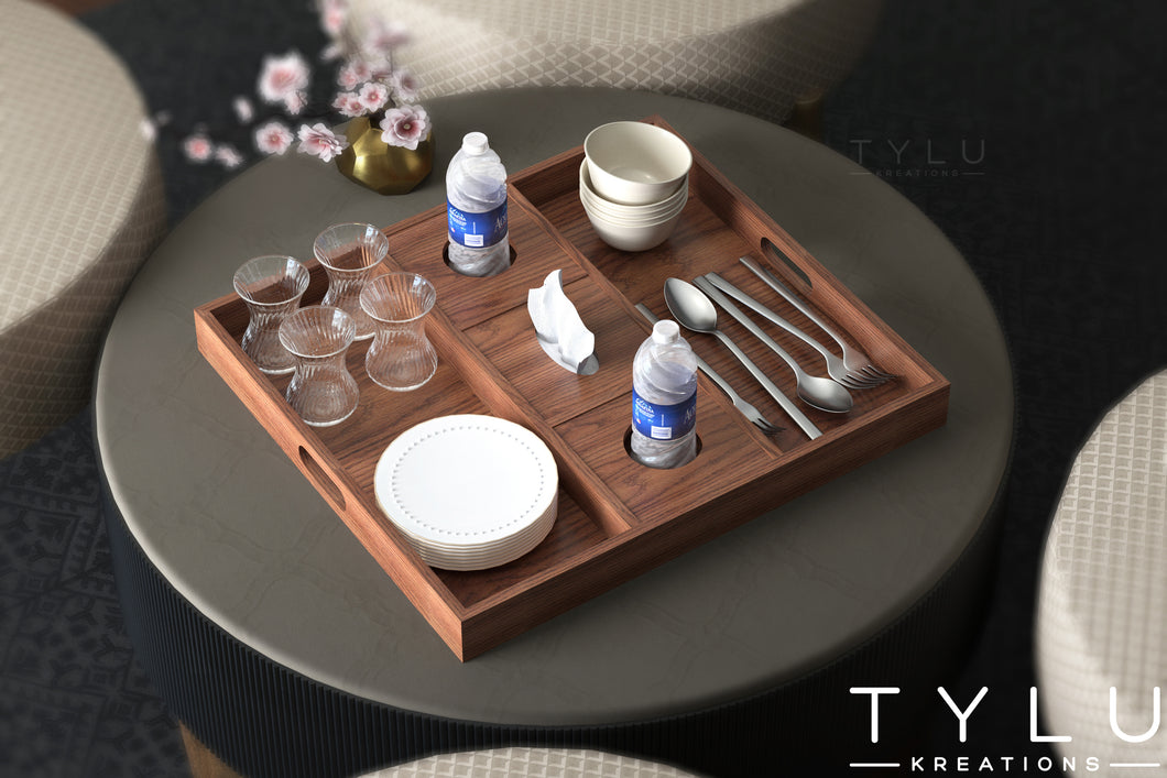 Multi Serving Tray