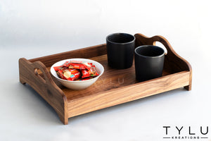 Wooden Serving Tray 2 - Tylu Kreations