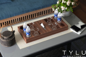 Layered Serving Tray with BH