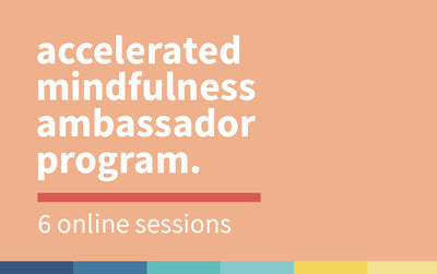Accelerated Mindfulness Ambassador Program