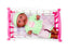 "Little Luv 12"" Doll & Doll Crib Set"