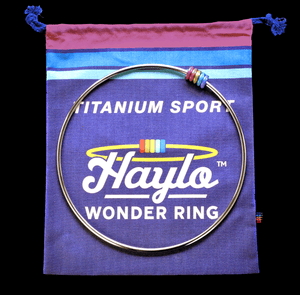 Haylo Wonder Ring Titanium • w/ Bag