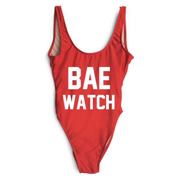 Bae Watch One Piece Swimsuit