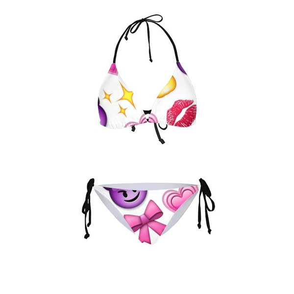 Devil Lips 3D Bikini for Girls and Women