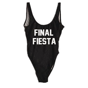 Final Fiesta One Piece Swimsuit