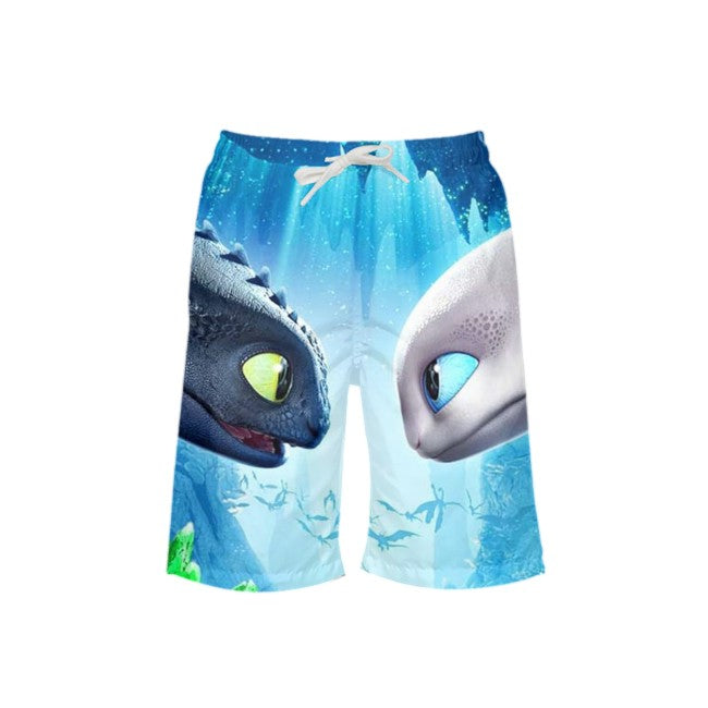 How To Train Your Dragon 3 Swim Trunks Swim Shorts