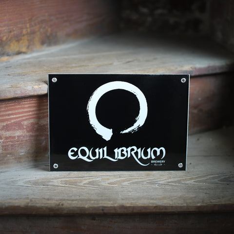 Equilibrium Bar Sign