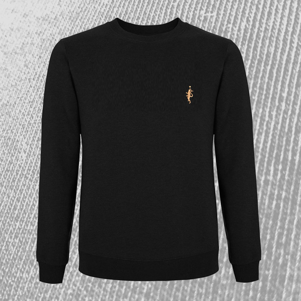 Classic Sweatshirt - Black and Tan