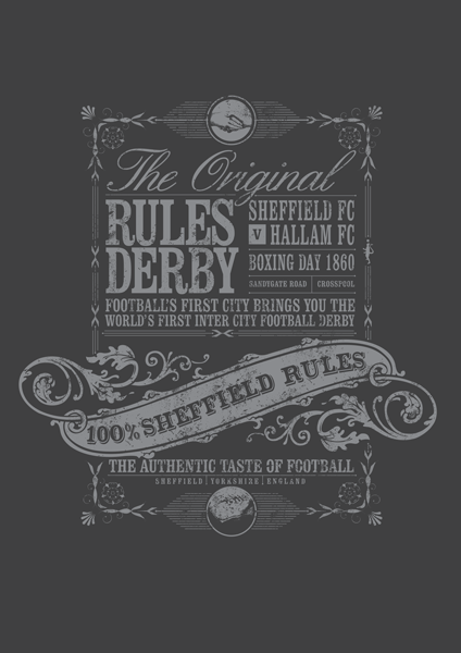 Sheffield Rules - Football's First Derby