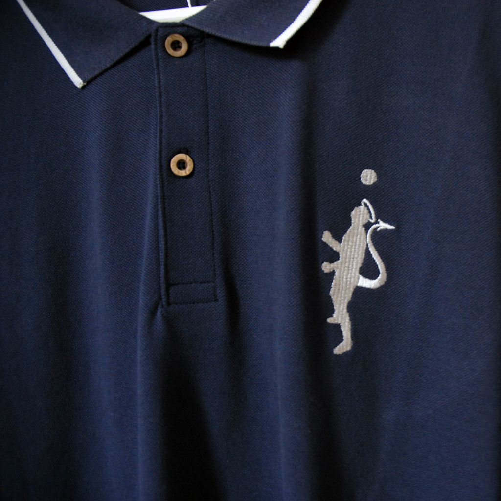 Tipped Pique Polo Shirt - Binary Football
