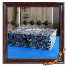 Load image into Gallery viewer, Holy Quran with Hard Case and Original Cashmere Cover - gallery-eshgh