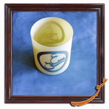 "Load image into Gallery viewer, Candle Holder With Wooden Calligraphy Word of ""Love"" in Farsi- #2 - gallery-eshgh"