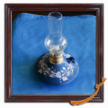 Load image into Gallery viewer, Kerosene Lamp With Beautiful Painting and Ceramic Basement - gallery-eshgh