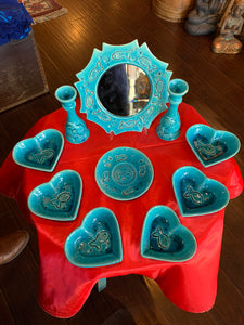 Persian HaftSeen - Very Beautiful Ceramic HaftSeen - Style#6