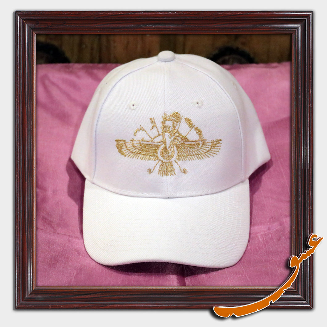Sport Hat With an Embroidery of Faravahar Symbol - Gallery Eshgh - gallery-eshgh
